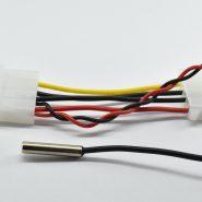 سنسور دما دیجیتال با نمایشگر رنگی