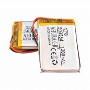 باتری لیتیوم پلیمر 3.7v ظرفیت 1200mAh