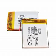 باتری لیتیوم پلیمر 3.7v ظرفیت 700mAh