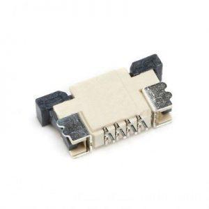 کانکتور 4 پین FPC 1MM 4PIN TOP - FPC