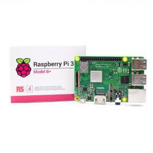 برد رزبری پای 3 مدل +B تولید انگلستان Raspberry pi 3 B+ UK